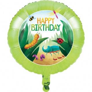 Insekten Forscher Folien Ballon
