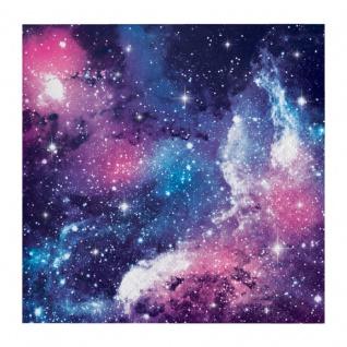 16 kleine Servietten Galaxy Party