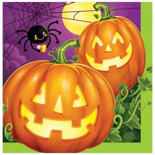 32 Teile Halloween Deko Set Kürbis Leuchte 8 Kinder - Vorschau 3