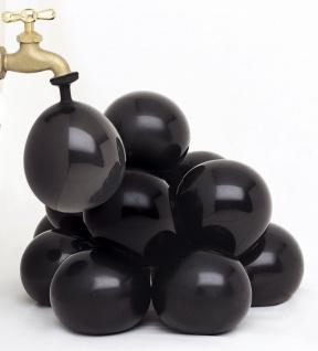 schwarze Wasserbomben Kanonenkugel