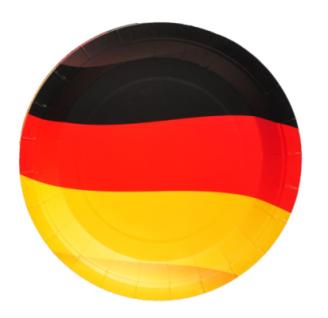 8 Pappteller Deutschland