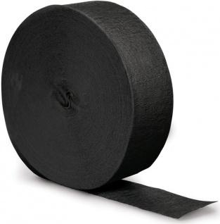 Kreppband Schwarz 150 Meter