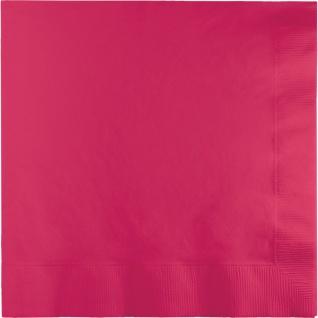200 kleine Servietten Pink Magenta - Vorschau