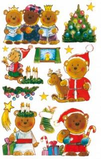 Weihnachts Bärchen Sticker