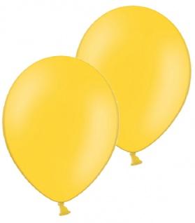 10 Luftballons in Gelb 28cm