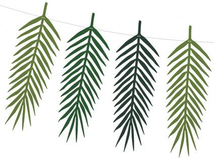 Do it yourself Palmen Blätter Girlande - Tropische Blätter - Vorschau 2