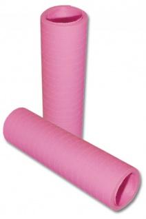 Papier Luftschlangen Rosa - 1 Rolle a 20 Wurf flammensicher