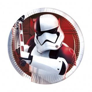 8 kleine Papp Teller Star Wars Episode 8
