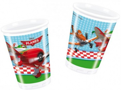 8 Disney Planes Becher