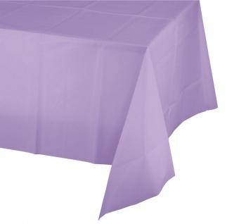Plastik Tischdecke Lavendel