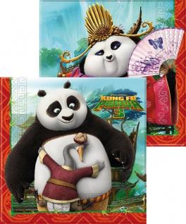 20 Servietten Kung Fu Panda