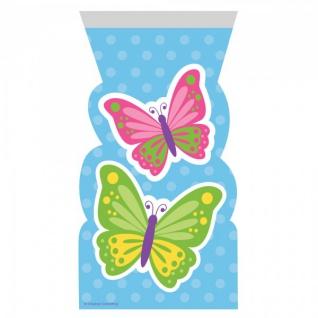 12 Zipper Tüten Schmetterlinge im Frühling