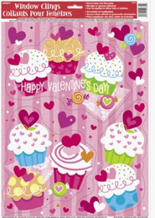 Valentins Tag Fensterbild
