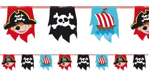 Piraten Abenteuer Wimpel Girlande