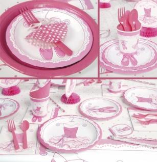 8 Papp Teller Pink Ballerina - Vorschau 3