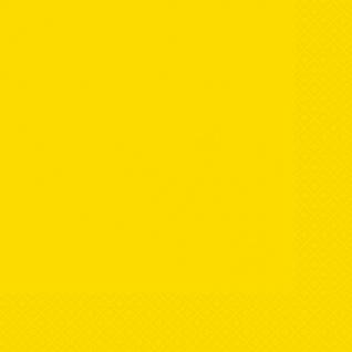 20 Servietten Neon Gelb