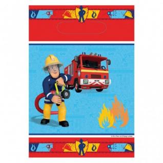 8 Party Tüten Feuerwehrmann Sam