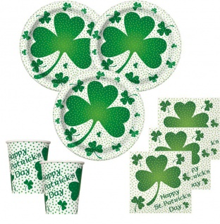 16 Servietten St. Patricks Day Kleeblatt 2