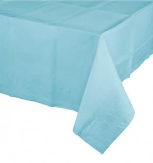 Papier Tischdecke Pastell Blau