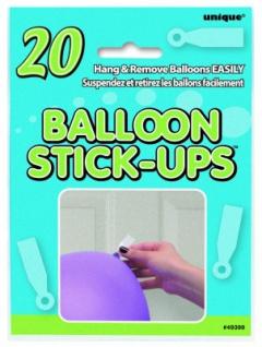 Ballon Stick Up Klebestreifen