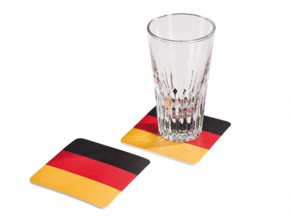 8 Deutschland Gläser Untersetzer
