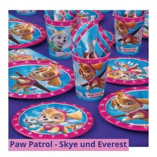 8 kleine Teller Paw Patrol Skye und Everest - Vorschau 3
