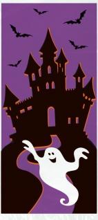 20 Halloween Zellophantütchen Geisterhaus