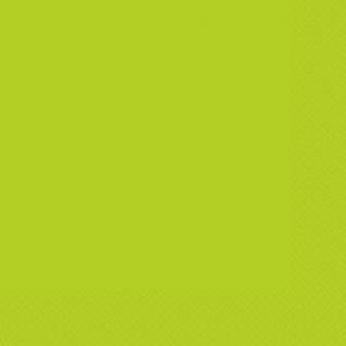 20 Servietten Neon Grün