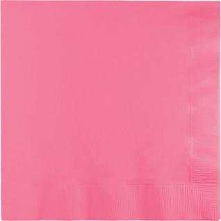 20 Servietten Bonbon Rosa
