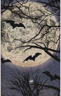 Halloween Tischdecke Atemlose Nacht - Vorschau 2