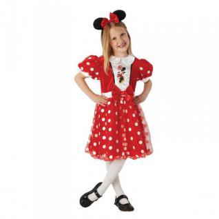 Minnie Maus Glitzer Kostüm Rot