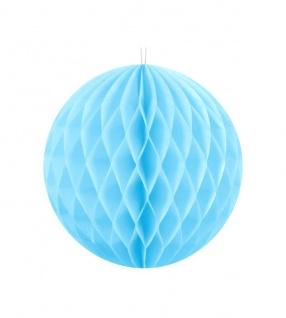 Wabenball Hellblau 20 cm