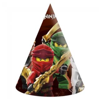6 Party Hütchen Lego Ninjago
