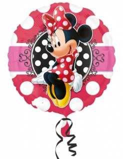 Minnie Maus Portrait Folien Ballon