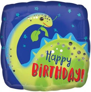 Geburtstags Folien Ballon Dinosaurier Brontosaurus