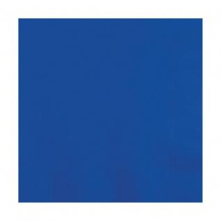 50 kleine Servietten Cobalt Blau 3-lagig