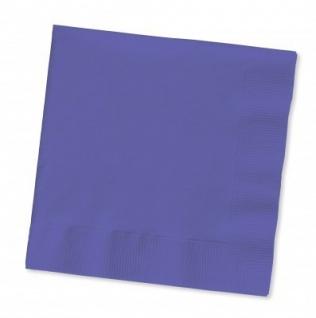20 Servietten Violett