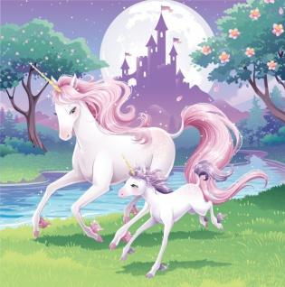 32 Teile rosa Einhorn Party Deko Set für 8 Kinder - Vorschau 4