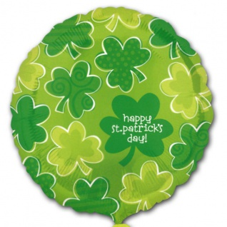 St. Patrick's Day Folienballon