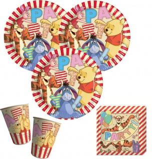 48 Teile Disney Winnie Puuh Party Deko Set für 8 Kinder - Vorschau 2
