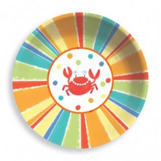 Strand Party Plastik Salat Schüssel 31 cm Durchmesser - Vorschau