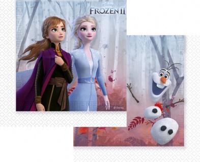 20 Servietten Frozen Eiskönigin 2