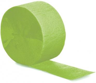 Kreppband Limonen Grün