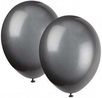 50 Luftballons Schwarz