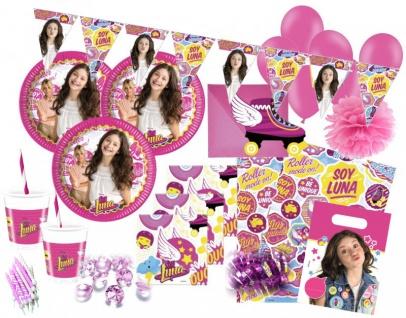 XXL 94 Teile Disney's Soy Luna Geburtstag Party Set für 6-8 Personen