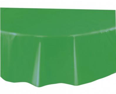 Runde Plastik Tischdecke Gras Grün - Vorschau 2