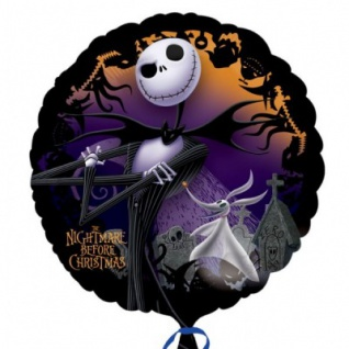 Folienballon Nightmare before Christmas - Vorschau