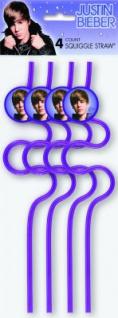Justin Bieber Trinkhalme