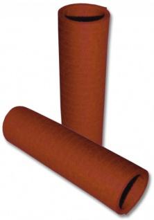 Papier Luftschlangen Braun - 1 Rolle a 20 Wurf flammensicher