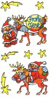 Weihnachten Silver Sticker
